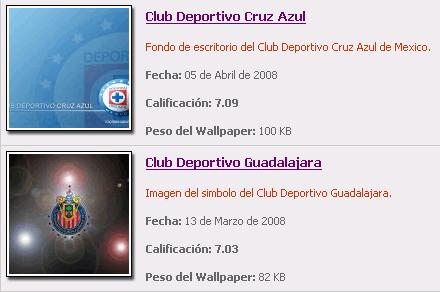 Wallpapers de Futbol