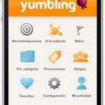 Yumbling, aplicación móvil para buscar lugares de entretenimiento - yumbling-iphone