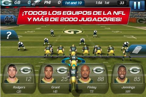 NFL Pro 2012 para iPhone es lanzado gratuitamente por Gameloft - NFL-pro-2012-iphone-gameloft