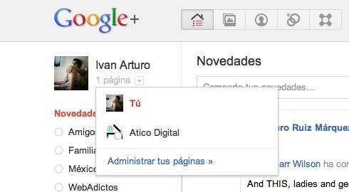Cómo hacer una página en Google+ - administrar-paginas