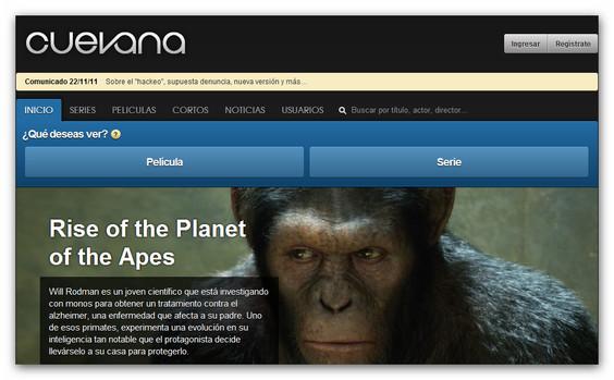 Cuevana, su rediseño, hackeos y varios rumores aclarados por su fundador - cuevana