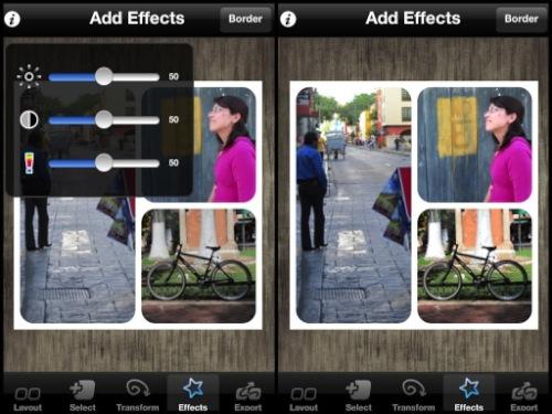 Diptic para iPhone y iPad, una increíble aplicación para crear imágenes fantásticas [Reseña] - diptic-ajustes