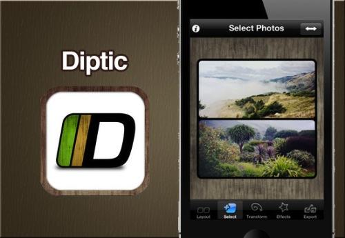 Diptic para iPhone y iPad, una increíble aplicación para crear imágenes fantásticas [Reseña] - diptic-iphone-review