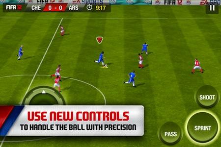Fifa 12 para iOS, un juego que debes probar este fin de semana - fifa-12-ios