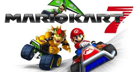 Trailer de Mario Kart 7 para el 3DS - mario-kart-7