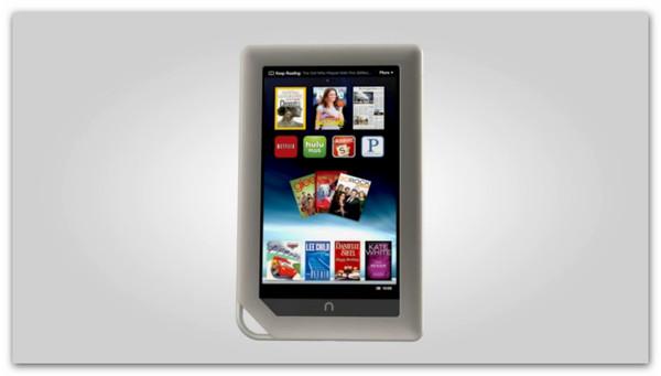 Nook Tablet, la nueva competencia para Kindle Fire - nook-tablet