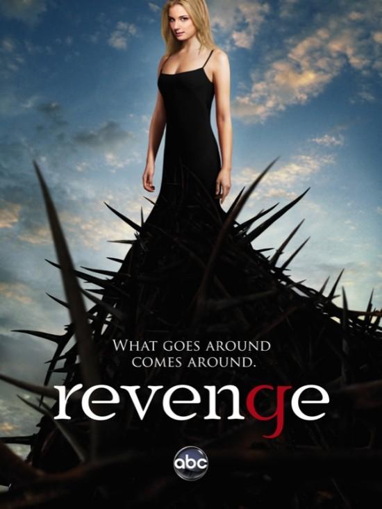 Revenge, una serie de misterio, amor, traición y venganza - revenge-abc-poster-550x733