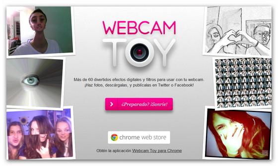 Webcam Toy, toma fotos y añade efectos desde tu Chrome - webcam-toy