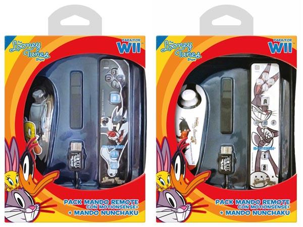 Divertidos mandos de los Looney Tunes para Wii - wii-looney-tunes