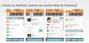 Yumbling disponible para Android y habilitan sus nuevos canales