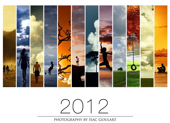 2012 calendar withe Wallpapers de Año Nuevo 2012