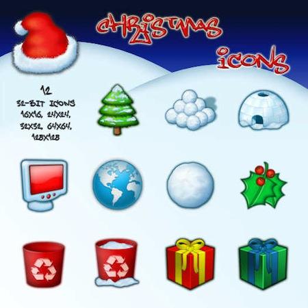 Christmas Mini Pack by arrioch Increíbles iconos de Navidad para PC