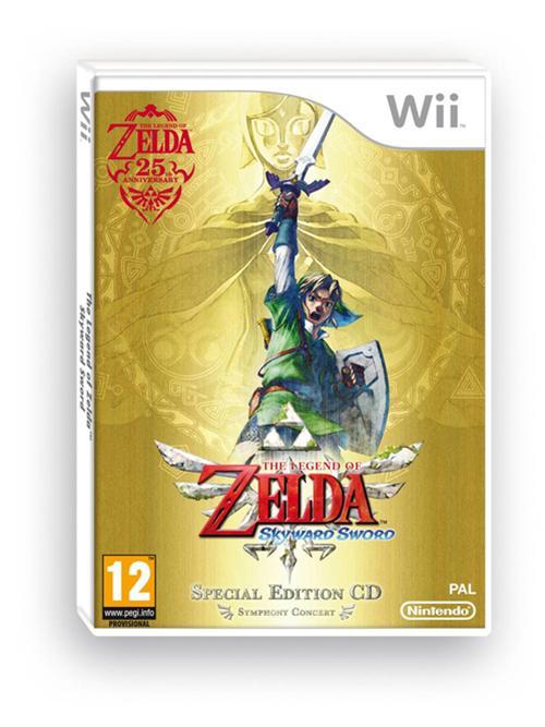 Los mejores videojuegos para regalar en esta navidad [Parte 1] - Europe-gets-Zelda-Skyward-Sword-Special-Edition-1074917