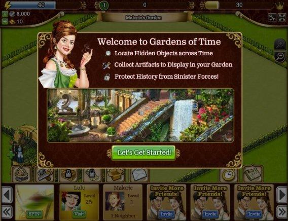Top 10 de juegos en Facebook del 2011 - Gardens-of-Time