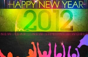 Wallpapers de Año Nuevo 2012