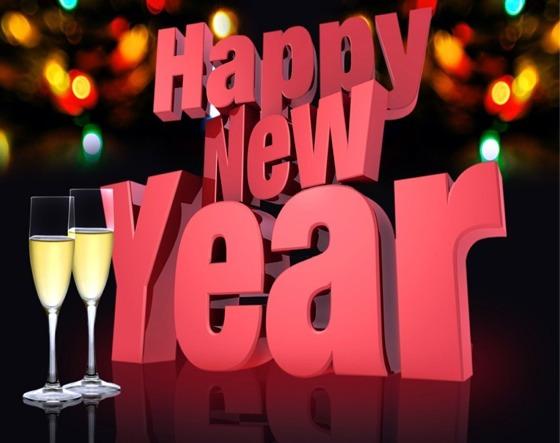 Wallpapers de Año Nuevo 2012 - Happy-new-year-cheers