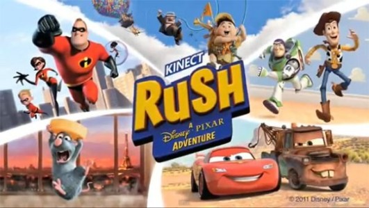 Kinect Rush: a Disney Pixar Adventure llegará para marzo - Kinect-Rush-A-Disney-Pixar-Adventure-Kinect-590x332