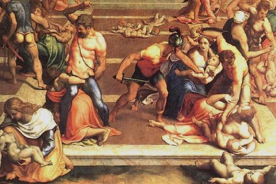 ¿Por qué se celebra el día de los Santos inocentes? - Santos-inocentes-biblia