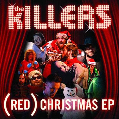 Los mejores discos de música de Navidad alternativa - THE-KILLERS-RED-CHRISTMAS-EP