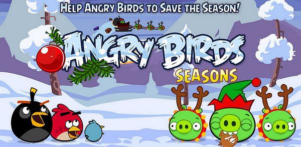 angry birds seasons Los mejores juegos de Navidad para Android