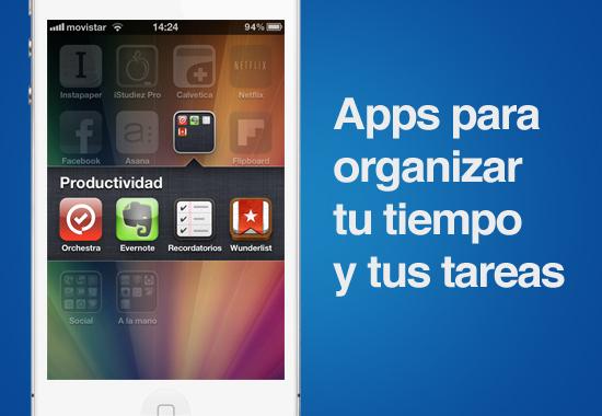 apps para organizar pendientes Comienza el 2012 organizando tu tiempo y pendientes con estas Apps gratuitas