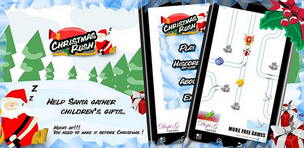 Los mejores juegos de Navidad para Android - christmas-rush