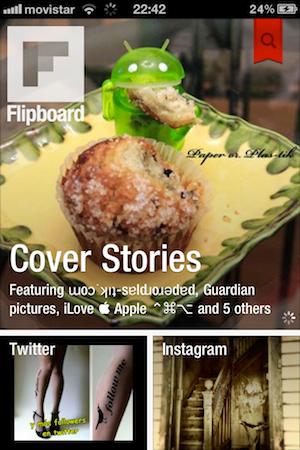 Las mejores aplicaciones sociales para iPhone que nos dejó el 2011 - flipboard