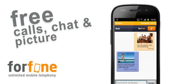 Forfone, una excelente opción para llamadas y SMS gratis en Android y iPhone - forfone