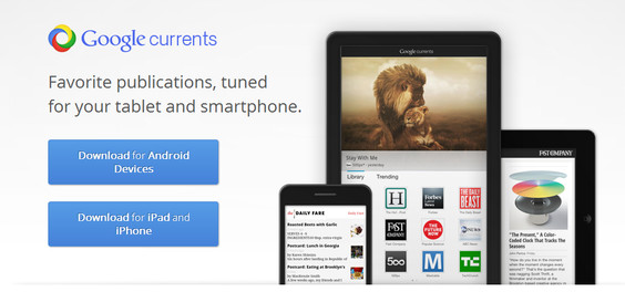Google Currents, la revista digital de Google disponible para iOS y Android - google-currents