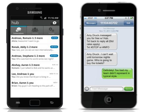 Yahoo Hub, un nuevo e importante cliente de mensajería instantánea para móviles - hub