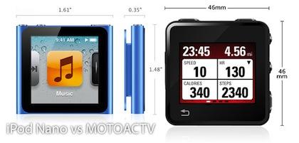 ipod nano vs motoactv Cumple tus propósitos de Año Nuevo con ayuda de la tecnología