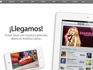 iTunes Store por fin disponible en Latinoamérica