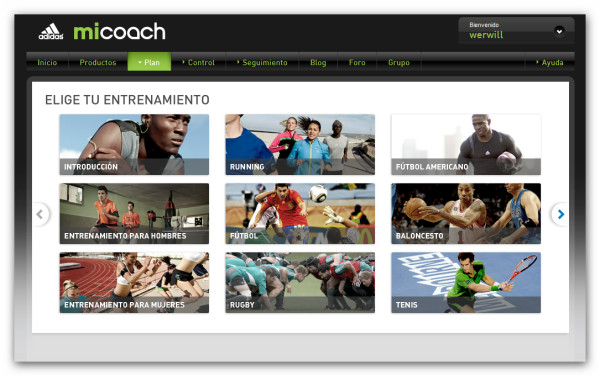 Adidas miCoach, tu verdadero entrenador personal para corredores [Reseña] - micoach-web-planes