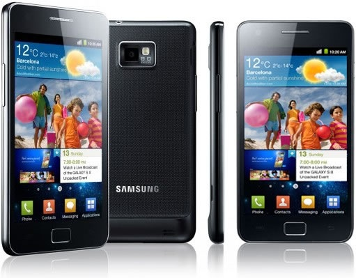 samsung galaxy sii Samsung anuncia fechas para Ice Cream Sandwich en dispositivos Galaxy