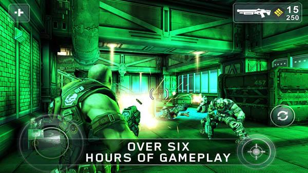 Los mejores cinco juegos compatibles con móviles y tablets Nvidia Tegra - shadowgun