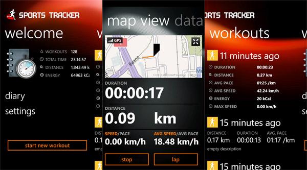 Sports Tracker estrena su aplicación para Windows Phone - sports-tracker-captura