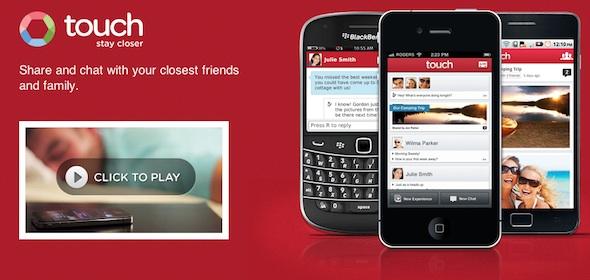 Pingchat, la aplicación de mensajería instantánea multiplataforma para móviles se renueva y se transforma en Touch - touch