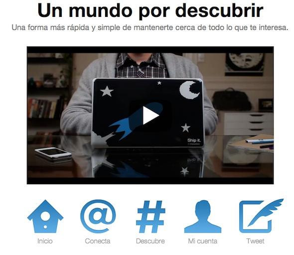 twitter nueva interface Twitter renueva su interfaz web y en los dispositivos móviles