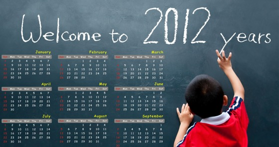 Wallpapers de Año Nuevo 2012 - welcome-to-2012-years
