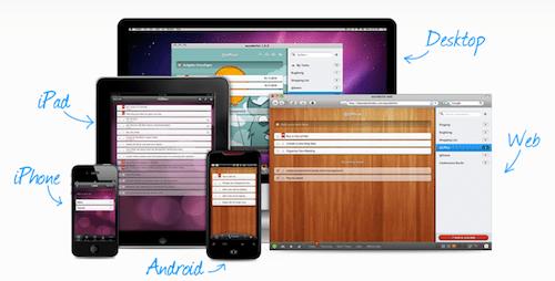 wunderlist Comienza el 2012 organizando tu tiempo y pendientes con estas Apps gratuitas