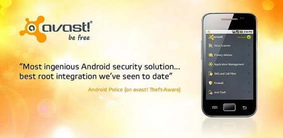 El famoso antivirus Avast hace su llegada a Android - avast-android