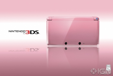 nintendo 3ds rosa Nintendo celebra San Valentín con edición rosa de Nintendo 3DS
