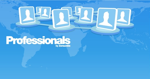 Professionals crece a 100 mil usuarios profesionistas - professionals-zonajobs