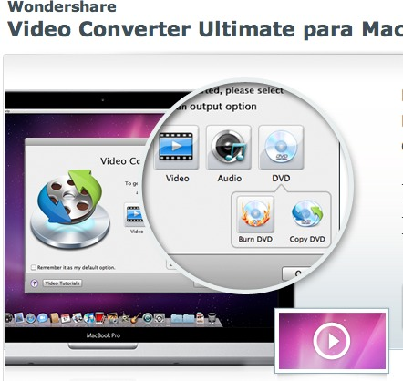 video converter mac Convierte videos y canciones en Mac con Video Converter Ultimate