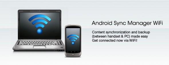 Android Sync Manager Wifi sincroniza tu Android sin necesidad de cables - Android-Sync-MAnager-WiFi-590x228