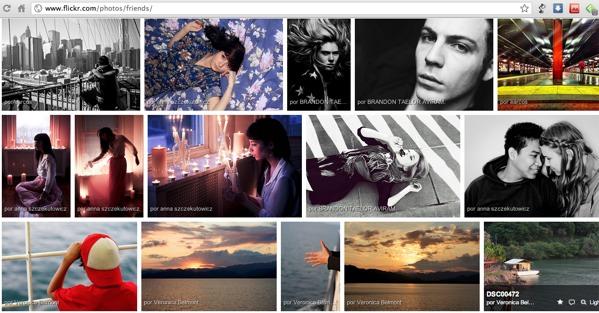 """Flickr presenta oficialmente """"Vista alineada"""" parte de su nueva interfaz - Flikcr-vista-alineada"""