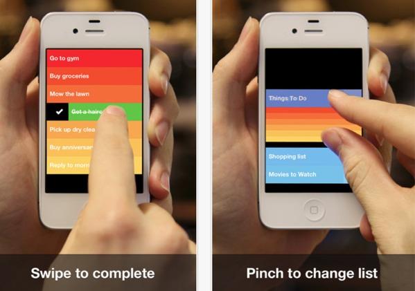 Clear, el gestor de tareas con interfaz de colores por fin disponible en la Appstore - clear-for-ios