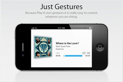 play it app Play It, un reproductor de música un poco diferente en tu iPhone o iPad [Reseña]