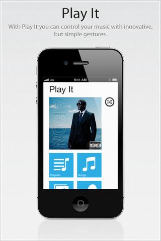 Play It, un reproductor de música un poco diferente en tu iPhone o iPad [Reseña] - play-it-iphone