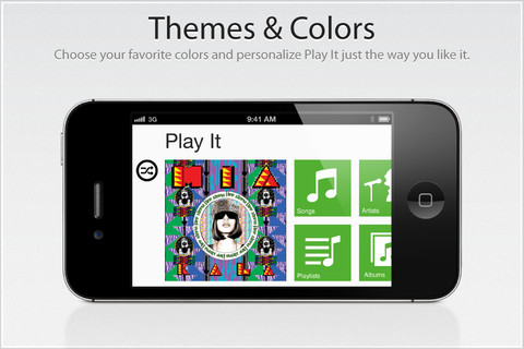 Play It, un reproductor de música un poco diferente en tu iPhone o iPad [Reseña] - play-it